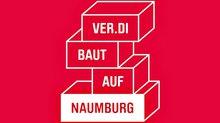 ver.di baut auf Naumburg Förderverin Kampagne Grafik Logo