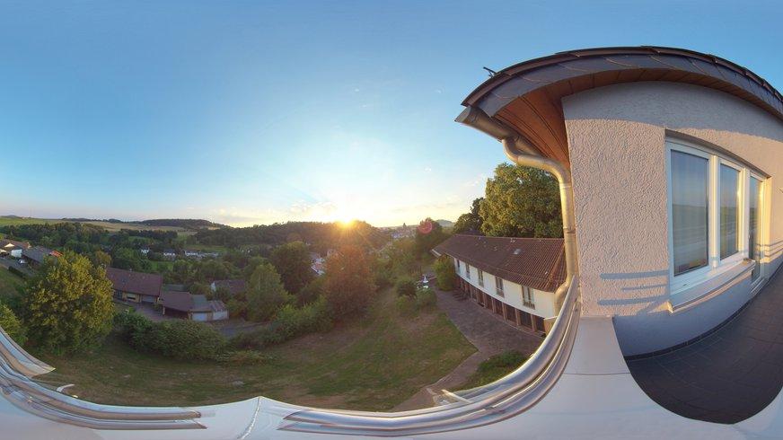 BIZ Naumburg Haus Außenbereich Terrasse Freizeit Pause